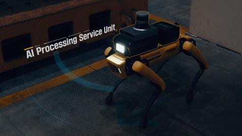 우리 공장은 `로봇개`가 지킨다…현대차 4족 보행 `스팟` 놀라운 능력